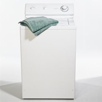 Tvättmaskin toppmatad liten